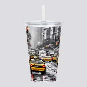I LOVE NYC - New York Acrylic Double-wall Tumbler