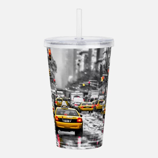 I LOVE NYC - New York Acrylic Double-wall Tumbler