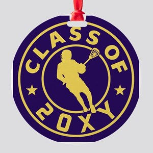 Class of 20?? Lacrosse Round Ornament