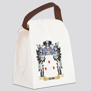 Kerr Coat of Arms - Family Crest Canvas Lunch Bag