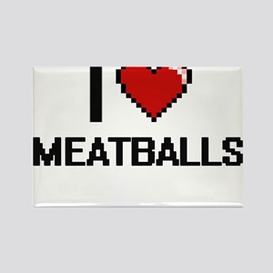 I Love Meatballs Magnets