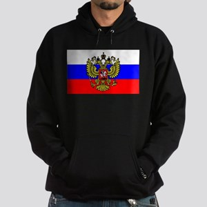 Flag of Russia - Trikolor Hoodie (dark)