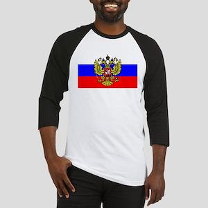 Flag of Russia - Trikolor Baseball Jersey