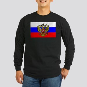 Flag of Russia - Trikolor Long Sleeve T-Shirt