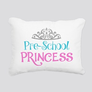 Pre-School Princess Rectangular Canvas Pillow