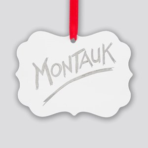 Montauk Picture Ornament