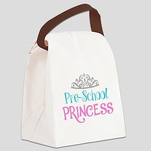 Pre-School Princess Canvas Lunch Bag