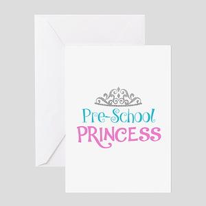 Pre-School Princess Greeting Cards
