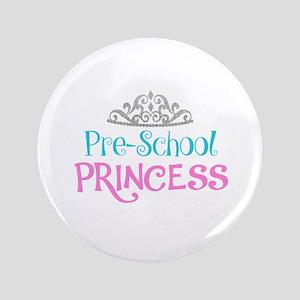 Pre-School Princess Button