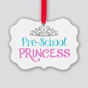Pre-School Princess Picture Ornament