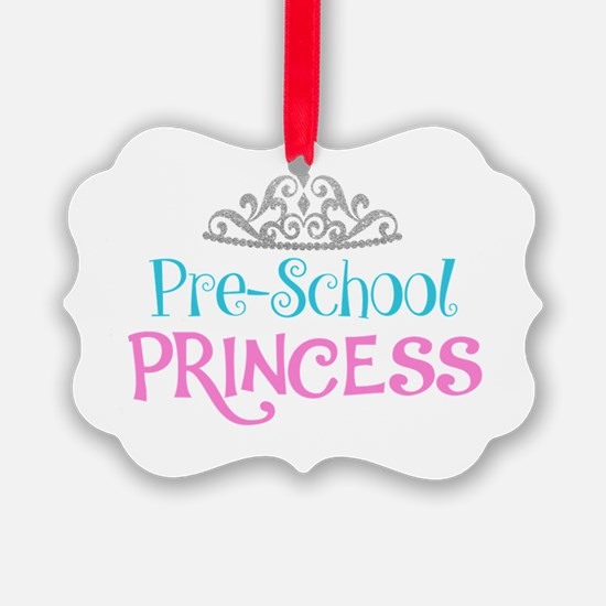 Pre-School Princess Ornament