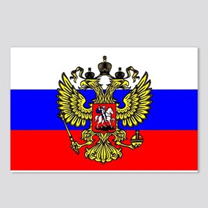Flag of Russia - Trikolor Postcards (Package of 8)