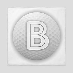 B Golf Ball - Monogram Golf Ball - Mon Queen Duvet