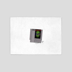 Soda pop zombies cartridge 5'x7'Area Rug