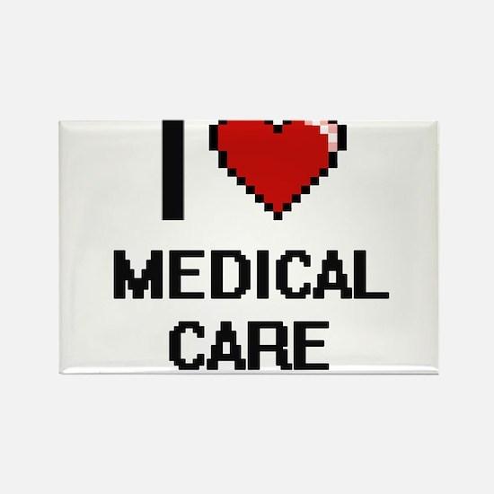 I Love Medical Care Magnets