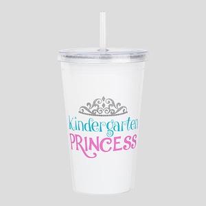 Kindergarten Princess Acrylic Double-wall Tumbler
