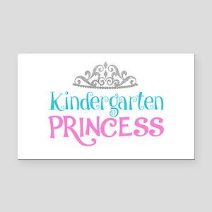 Kindergarten Princess Rectangle Car Magnet