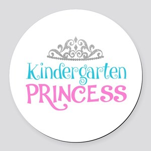 Kindergarten Princess Round Car Magnet