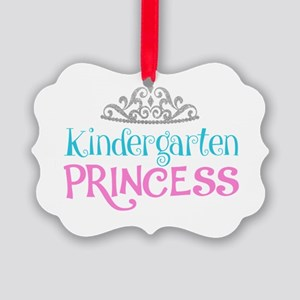 Kindergarten Princess Picture Ornament