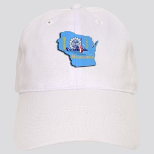 MILWAUKEE WI CITY FLAG Cap