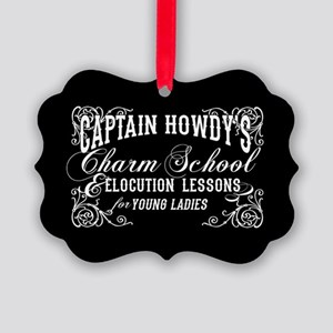 Captain Howdy's Charm School The Exorcist Ornament