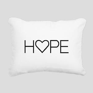 Home (Simple) Rectangular Canvas Pillow