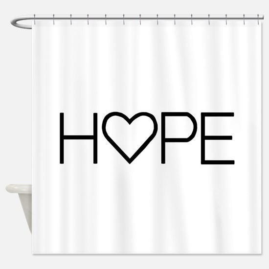 Home (Simple) Shower Curtain