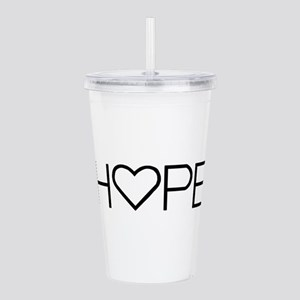 Home (Simple) Acrylic Double-wall Tumbler