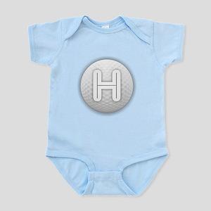 H Golf Ball - Monogram Golf Ball - Monog Body Suit
