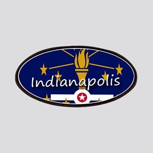 INDIANAPOLIS INDIANA FLAGS Patch