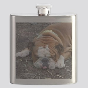 Tuckered Out Flask