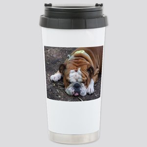 Tuckered Out Stainless Steel Travel Mug