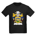 Terre Family Crest  Kids Dark T-Shirt