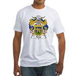 Terre Family Crest  Fitted T-Shirt