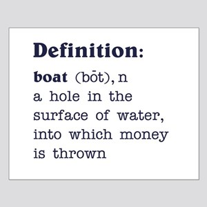 Boat Definition Small Poster