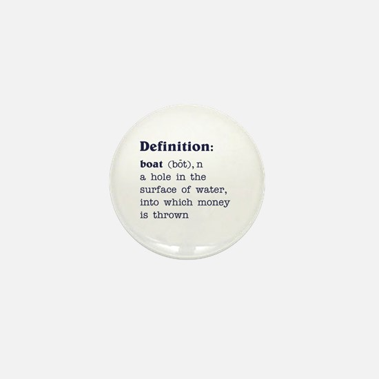 Boat Definition Mini Button