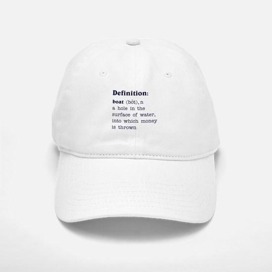 Boat Definition Baseball Baseball Cap