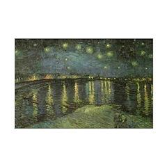 Starry NightOn The Rhone Print