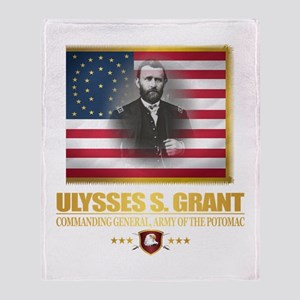 Grant (Northern Commanders) Throw Blanket