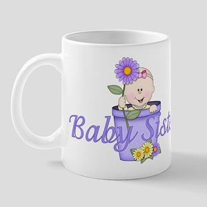 Baby Sister Flowerpot Mug