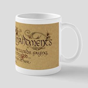ten commandments Mugs
