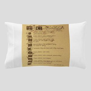 ten commandments Pillow Case