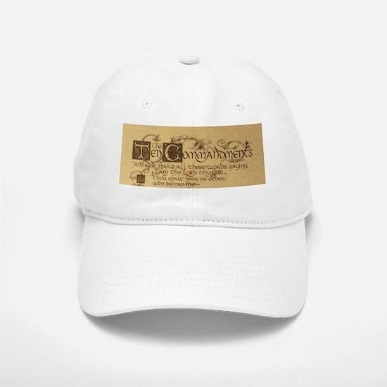 ten commandments Baseball Baseball Cap