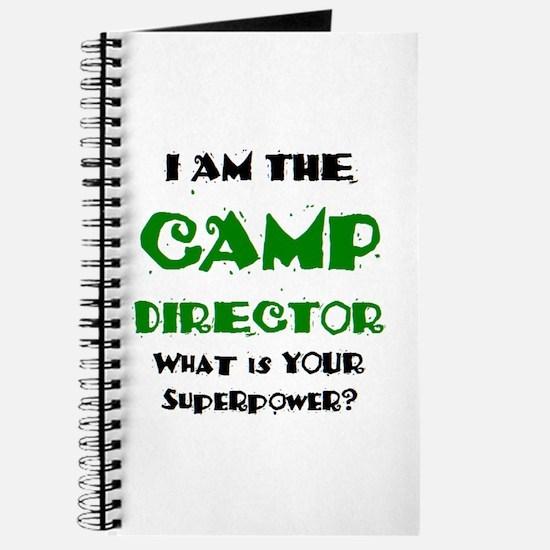 camp director Journal