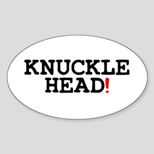 KNUCKLEHEAD! Sticker