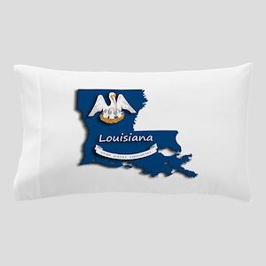 Louisiana State Pelican Flag Pillow Case
