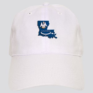 Louisiana State Pelican Flag Cap