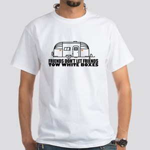 Friends Don't Let Friends Tow White Boxes T-Shirt