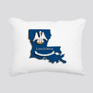 Louisiana State Pelican Rectangular Canvas Pillow