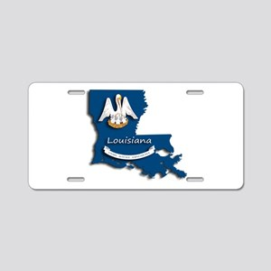 Louisiana State Pelican Fla Aluminum License Plate